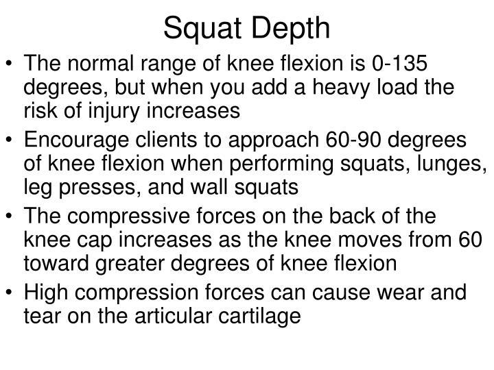 Squat Depth