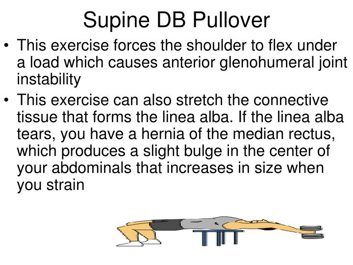 Supine DB Pullover