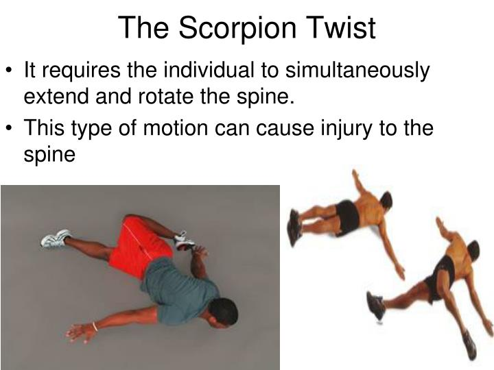 The Scorpion Twist