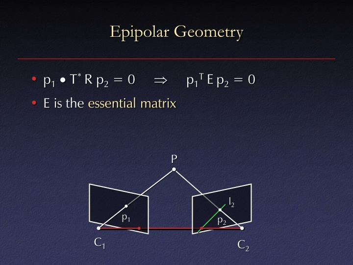 Epipolar Geometry