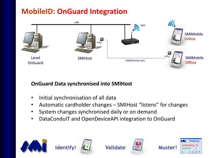 MobileID: