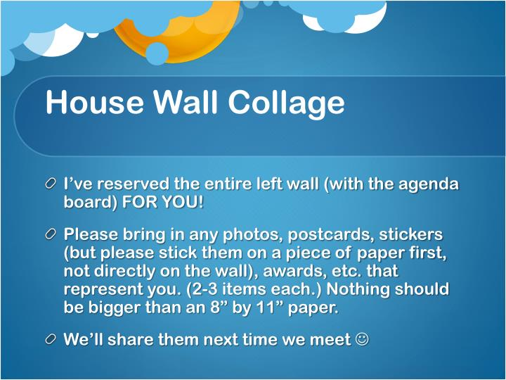 House Wall Collage