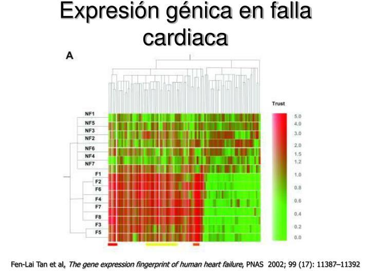Expresin gnica en falla cardiaca