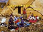 une famille en bolivie