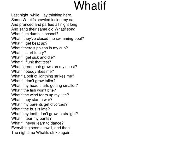 Whatif