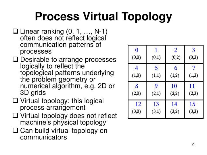 Process Virtual Topology