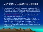 johnson v california decision