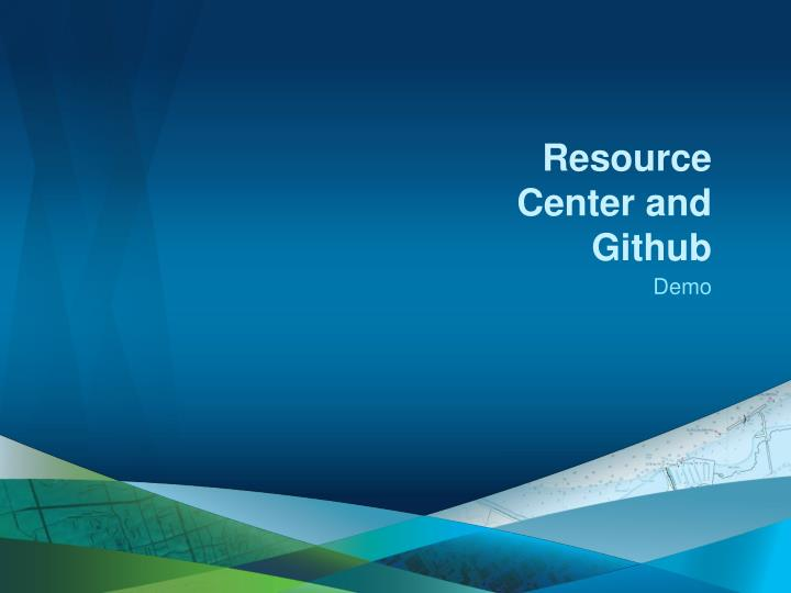 Resource Center and