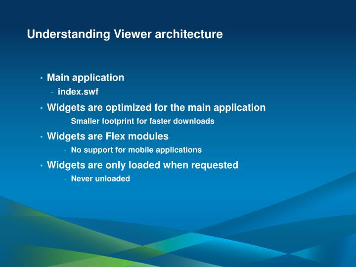 Understanding Viewer architecture