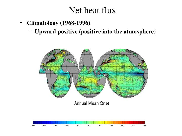 Net heat flux