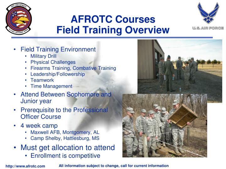 AFROTC Courses