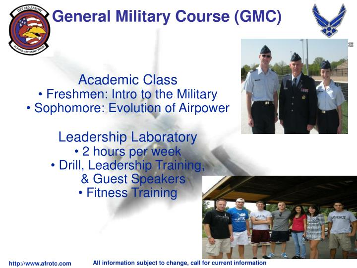 General Military Course (GMC)