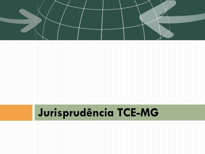 Jurisprudência TCE-MG
