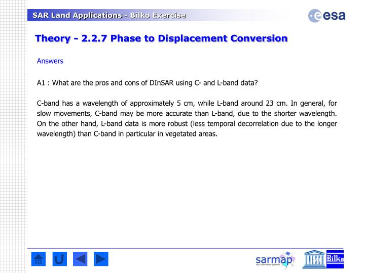 Theory - 2.2.7 Phase to Displacement Conversion