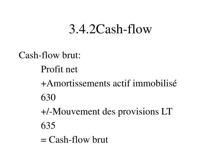 3.4.2Cash-flow