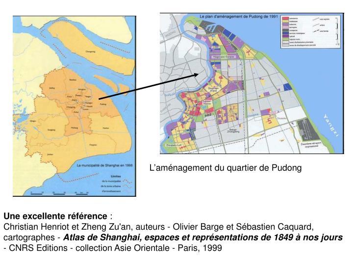 L'aménagement du quartier de Pudong