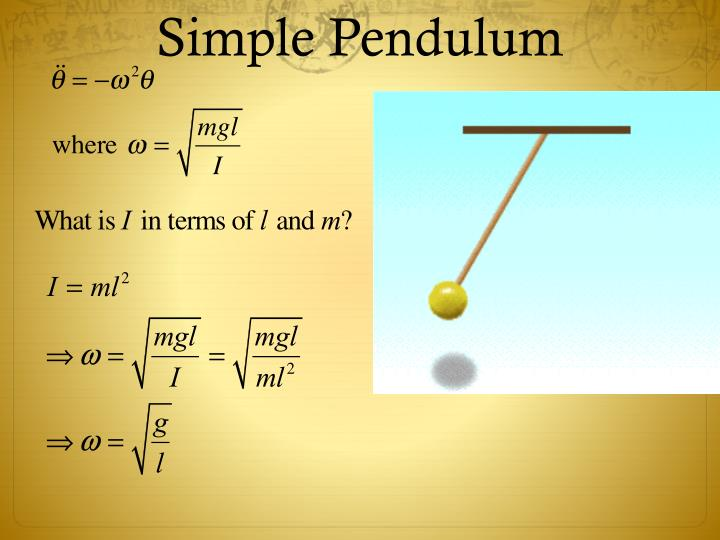 Simple Pendulum