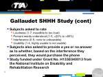 gallaudet shhh study cont
