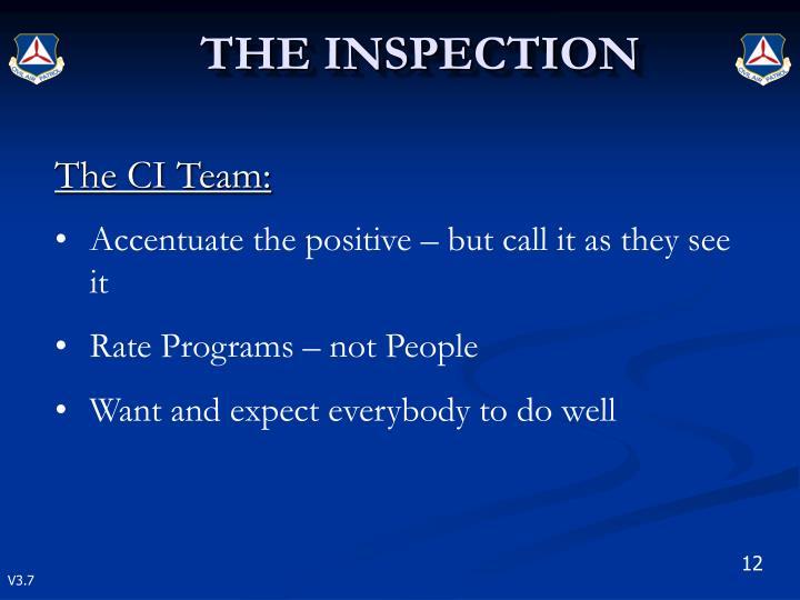 The CI Team: