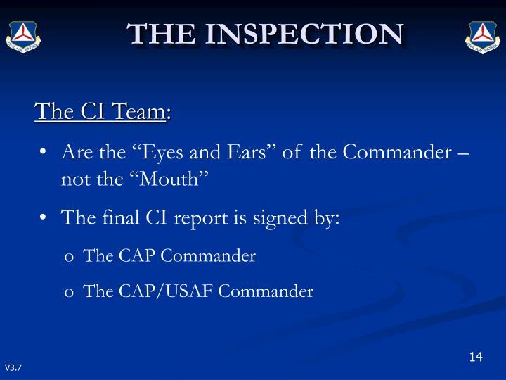 The CI Team