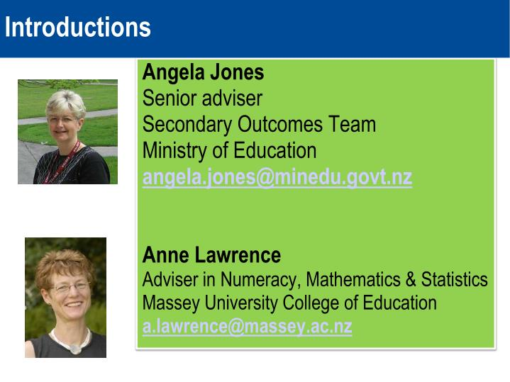 Mathematics and ncea realignment