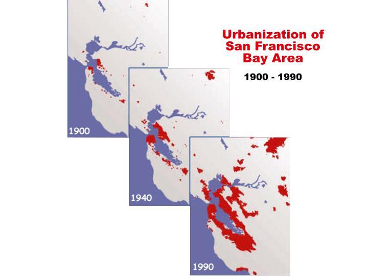 Urbanization of
