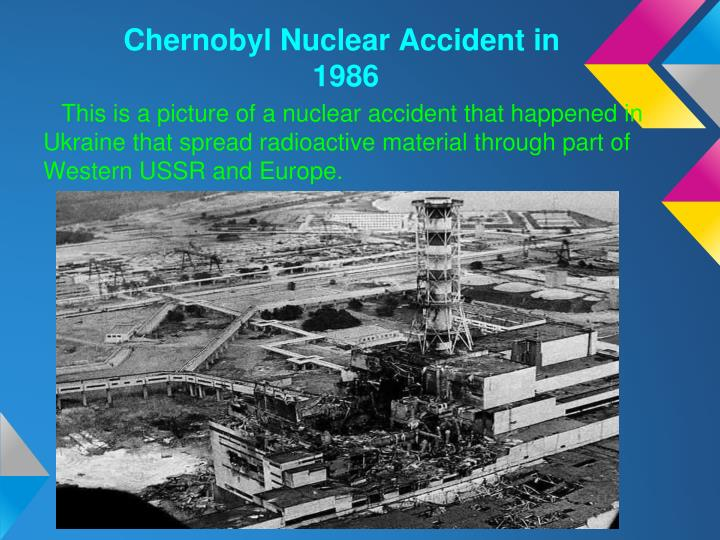 Chernobyl Nuclear Accident in