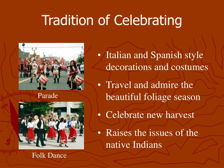 Tradition of Celebrating