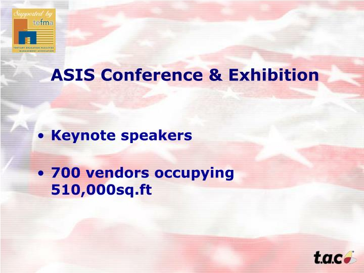 ASIS Conference & Exhibition