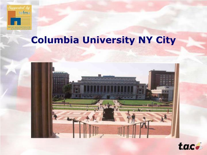 Columbia University NY City