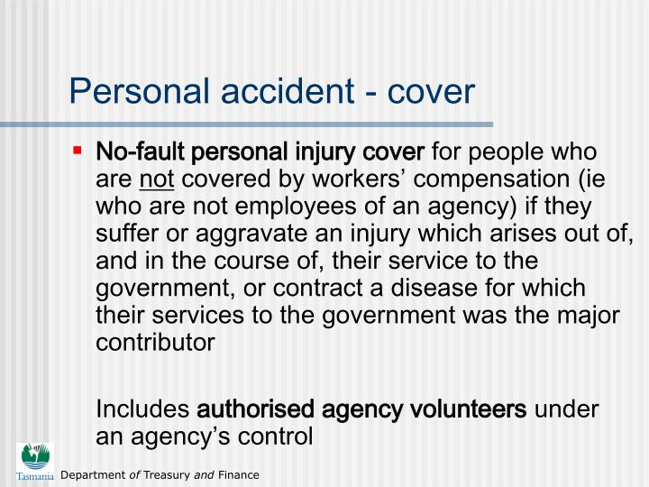 Personal accident - cover