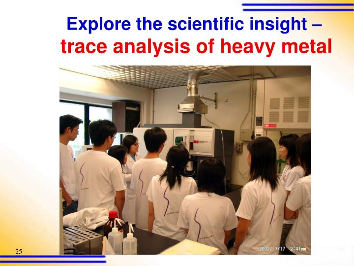 Explore the scientific insight –