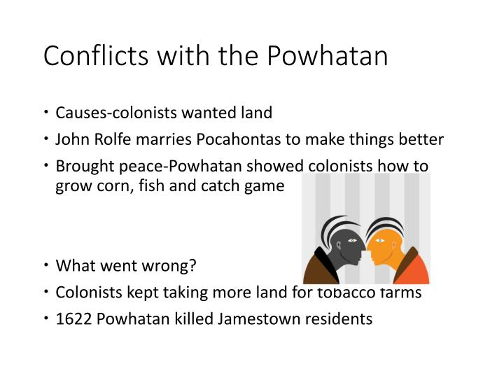 Conflicts with the Powhatan