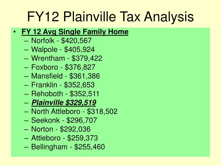 Fy12 plainville tax analysis2