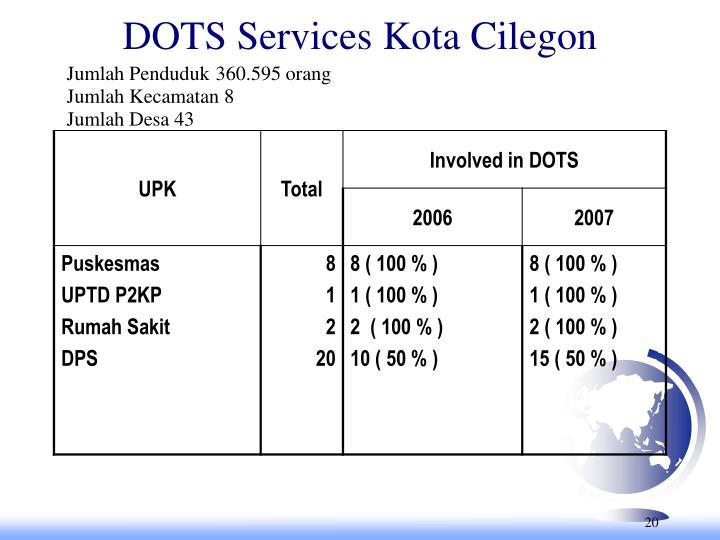 DOTS Services Kota Cilegon
