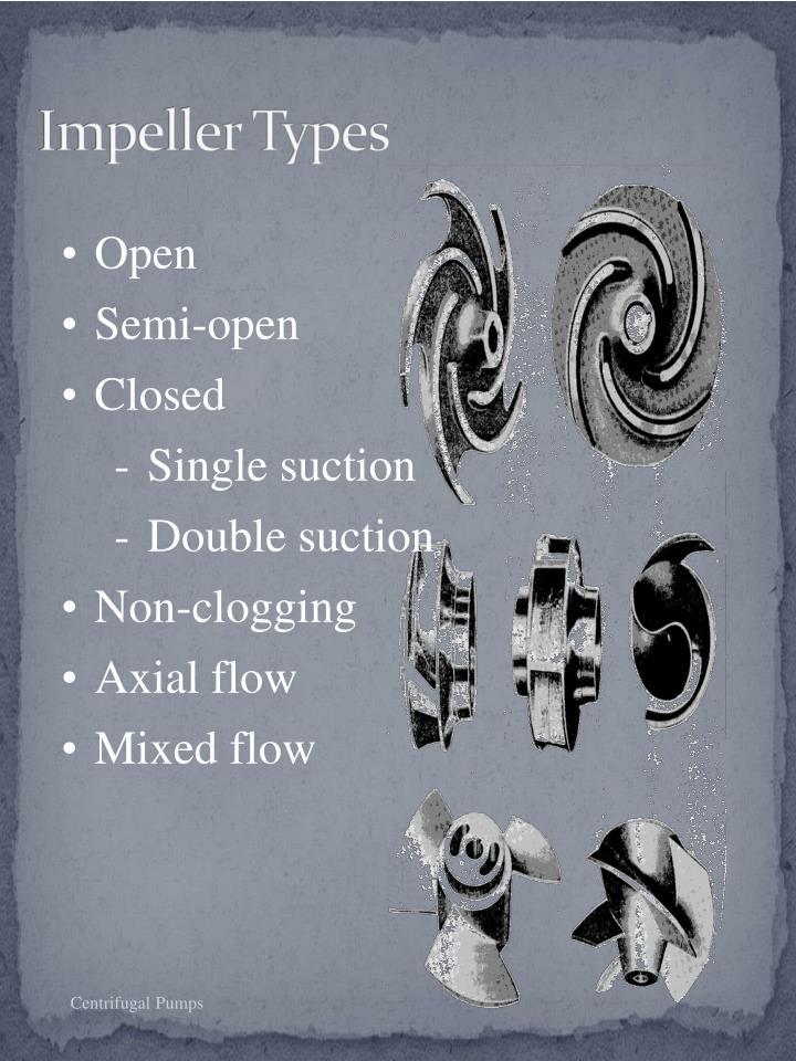 Impeller Types