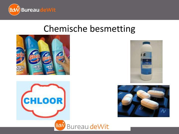 Chemische besmetting