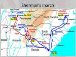 sherman s march