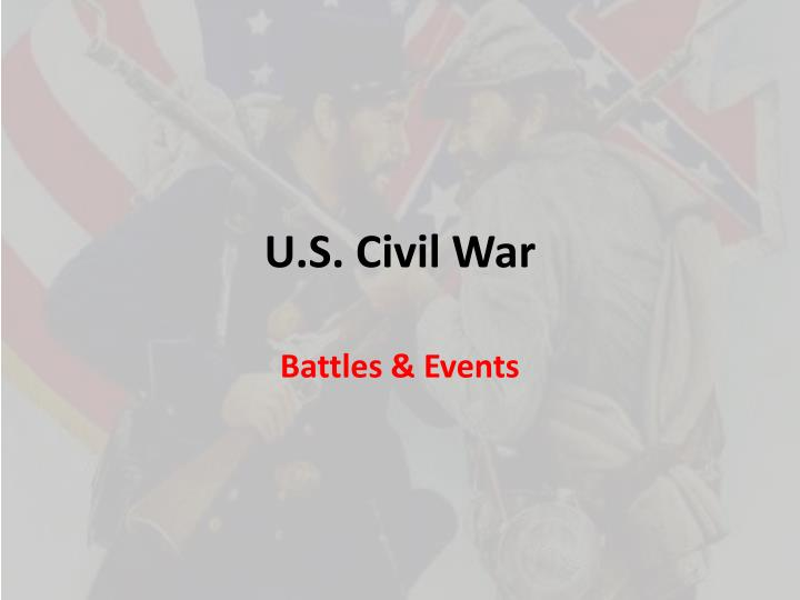 u s civil war