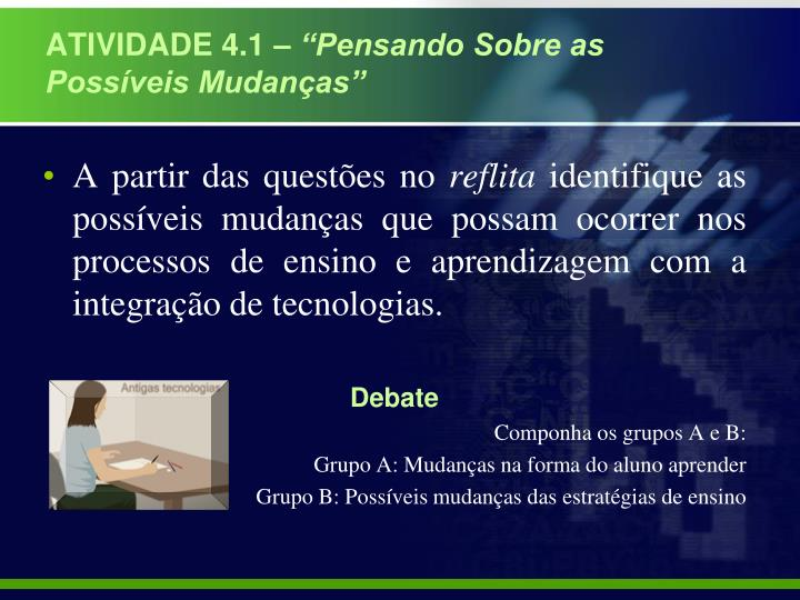 ATIVIDADE 4.1 –