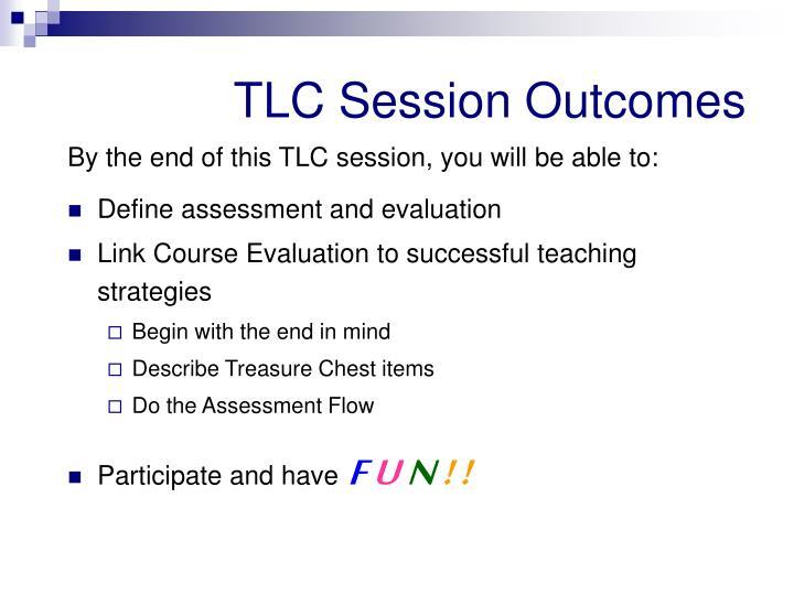 TLC Session Outcomes