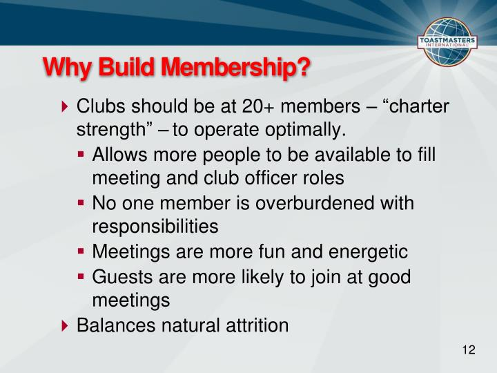 Why Build Membership?