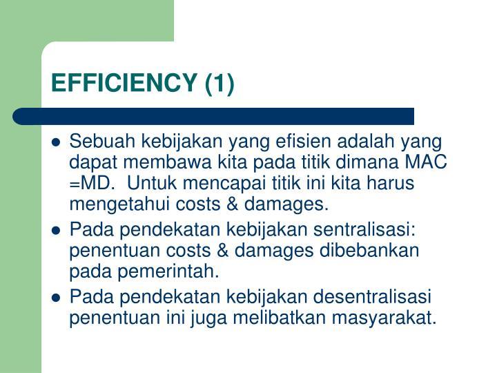EFFICIENCY (1)