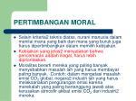 pertimbangan moral