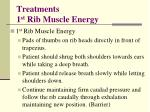 treatments 1 st rib muscle energy