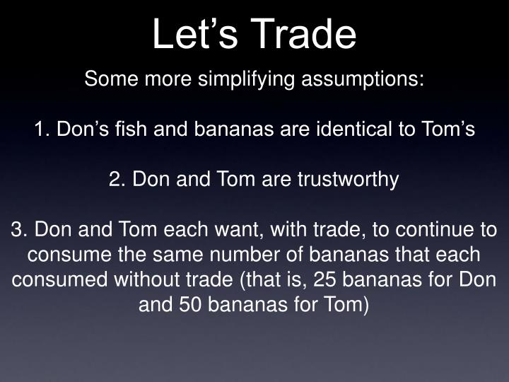 Let's Trade