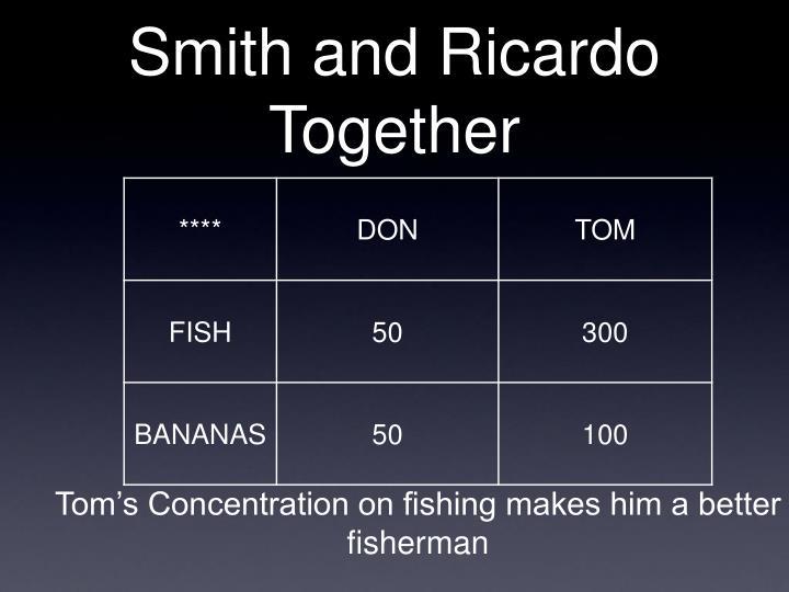 Smith and Ricardo Together
