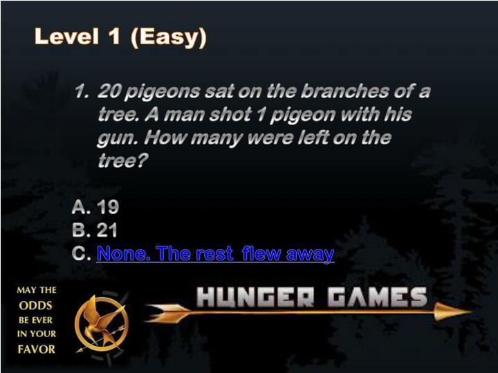 Level 1 (Easy)