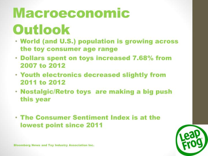Macroeconomic Outlook