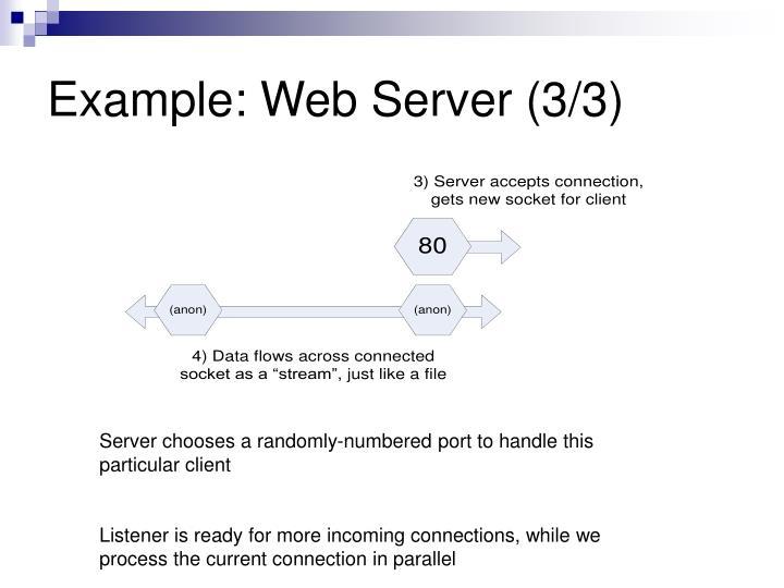 Example: Web Server (3/3)